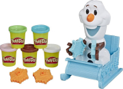 hasbro play doh frozen olafs sleigh ride e5375eu4 photo
