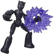 hasbromarvel avengers bend and flex black panther action figure 15cm e7868 photo