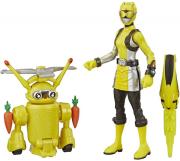 hasbropower rangers yellow ranger morphin jax beastbot action figures e8087 photo