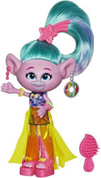 dreamworks trolls world tour glam satin deluxe fashion doll e6820 photo
