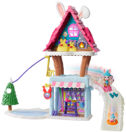 enchantimals hoppin ski chalet playset gjx50 photo