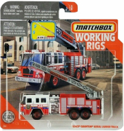 matchbox real working rigs pierce quantum aerial ladder truck gng42 photo