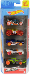 hot wheels action set of 5 ghp64 photo