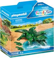 playmobil 70358 aligatoras me ta mora toy photo