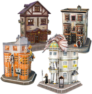 harry potter hogwarts diagon alley 4 in 1
