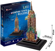 empire state building led photo