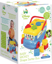 as baby clementoni disney baby baby mickey shape sorter bus 1000 14395 photo