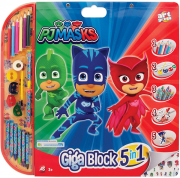 as pj masks giga block painting set 5in1 1023 62711 photo
