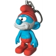 lego smurf keychain light papa photo