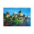 trefl puzzle 1500pz oberhofen castle switzerland photo