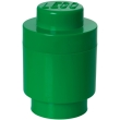 lego storage brick 1 round green photo