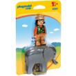 playmobil 9381 fylakas zoologikoy kipoy me elefanta photo