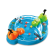 hasbrohungry hippos grab go board game in greek b1001 photo