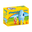 playmobil 70186 astronaytis me pyraylo photo