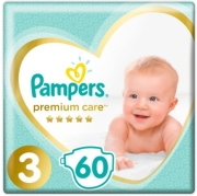 pampers premium care no3 6 10kg 60 tem photo