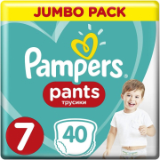 pampers pants no7 17kg 40 tem photo