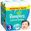 pampers active baby no3 6 10kg 208 tmx monthly pack photo