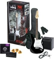 ilektriki kithara gewapure vgs rc 100 guitar pack black enisxytis photo