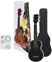 ukulele gewapure almeria player pack black photo