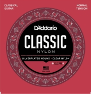 xordes klassikis kitharas d addario ej27n classic nylon series clear silverplated normal tension photo