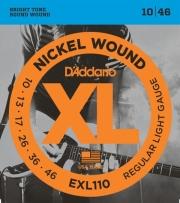 xordes ilektrikis kitharas d addario exl110 xl series regular light 10 46 nickel wound photo