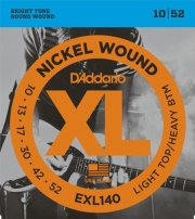 xordes ilektrikis kitharas d addario exl140 xl series light top heavy bottom 10 52 nickel wound photo