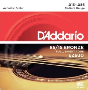 xordes akoystikis kitharas d addario ez930 super light 13 56 85 15 bronze bright tone photo
