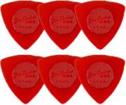 penes dunlop 473p15 tri stubby series 15 mm player s pack 6tmx red photo