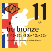xordes akoystikis kitharas rotosound tb11 tru bronze light 11 52 80 20 bronze photo