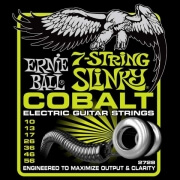 xordes ilektrikis kitharas ernie ball 2728 slinky cobalt 7 string photo