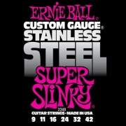 xordes ilektrikis kitharas ernie ball 2248 super slinky stainless steel photo