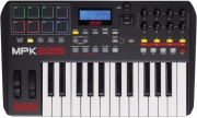 midi keyboard akai mpk225 compact keyboard controller photo