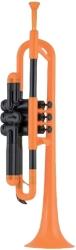 trompeta ptrumpet portokali photo