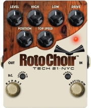 petali tech 21 modulation roto choir rotary speaker emulator pedal photo