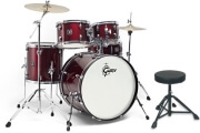 tympana gretsch energy red paiste 2 pcs set photo