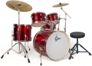 tympana gretsch energy red paiste 3 pcs set photo