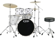 tympana pdp by dw set kothroi tympanon mainstage set 2 gloss white chrome hardware photo