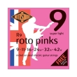 xordes ilektrikis kitharas rotosound r9 roto pinks super lights 9 42 nickel on steel photo