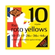 xordes ilektrikis kitharas rotosound r10 roto yellows regular 10 46 nickel on steel photo