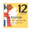 xordes akoystikis kitharas rotosound tb12 tru bronze medium light 12 54 80 20 bronze photo