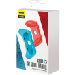 baseus switch small handle gs04 red blue 2pcs photo