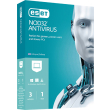 eset nod32 antivirus 3pc 1yr retail photo