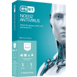 eset nod32 antivirus 1user 1yr 2 devices retail photo