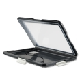 4smarts universal waterproof case active pro seashell for tablets 7 8 black extra photo 1
