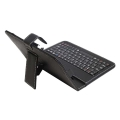 art ab 97 tablet case 7  keyboard usb black extra photo 1
