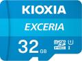 kioxia lmex1l032gg2 exceria 32gb micro sdhc uhs i u1 with adapter extra photo 1