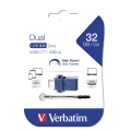 verbatim 49966 32gb dual usb drive type c usb 30 drive extra photo 3