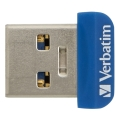verbatim 98711 64gb store n stay nano usb 30 flash drive blue extra photo 1