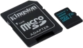 kingston sdcg2 32gb canvas go 32gb micro sdhc class 10 uhs i u3 v30 sd adapter extra photo 1