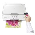 polymixanima canon pixma ts8051 wifi white extra photo 1